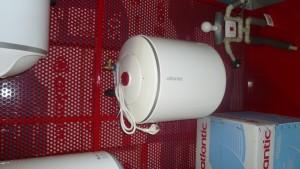 монтаж на бойлер под мивка
